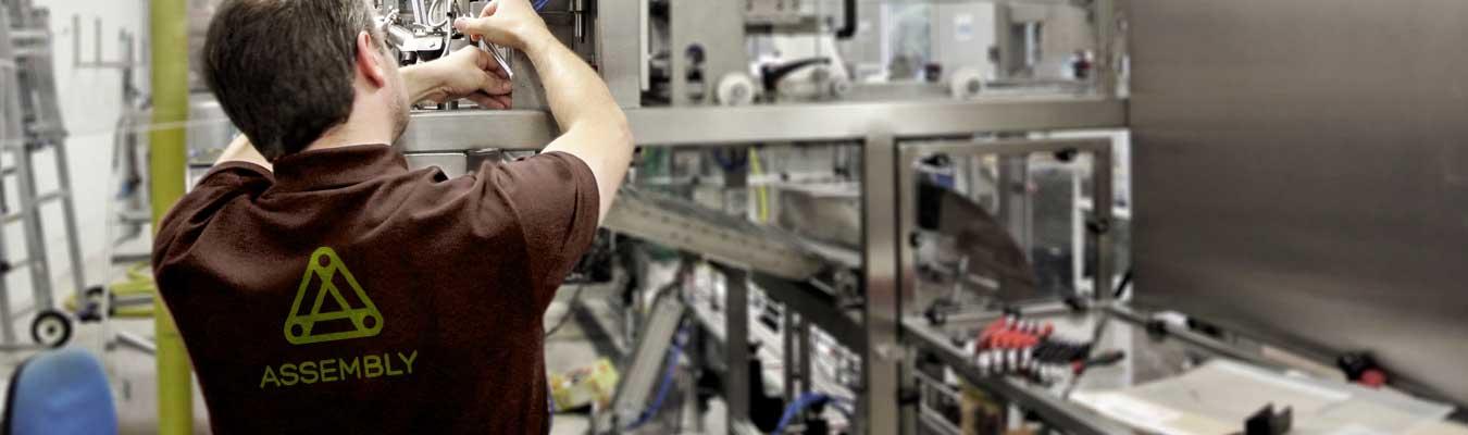 ASSEMBLY. Talleres de fabricación y servicios de instalación, montaje y puesta a punto. Contenedor