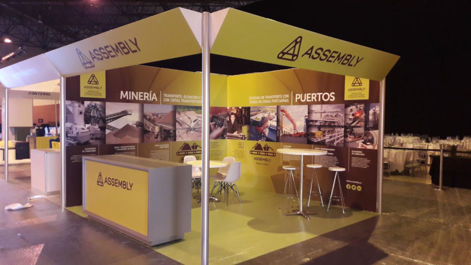 ASSEMBLY. El Stand de ASSEMBLY ya está preparado en Sevilla